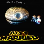 Star Wars Wedding & Death Star Cake