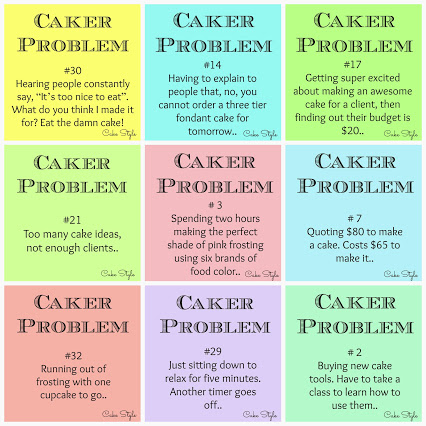 Fave Caker Problems Collage